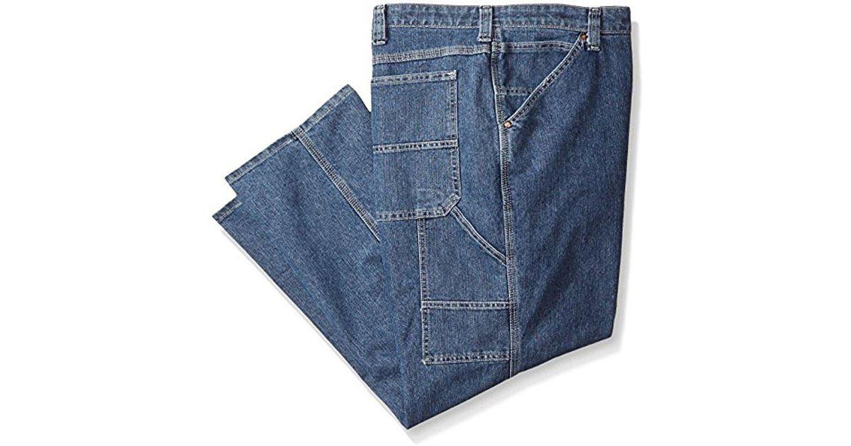 6b05881d Lyst - Lee Jeans Big-tall Custom Fit Carpenter Jean in Blue for Men - Save  17%