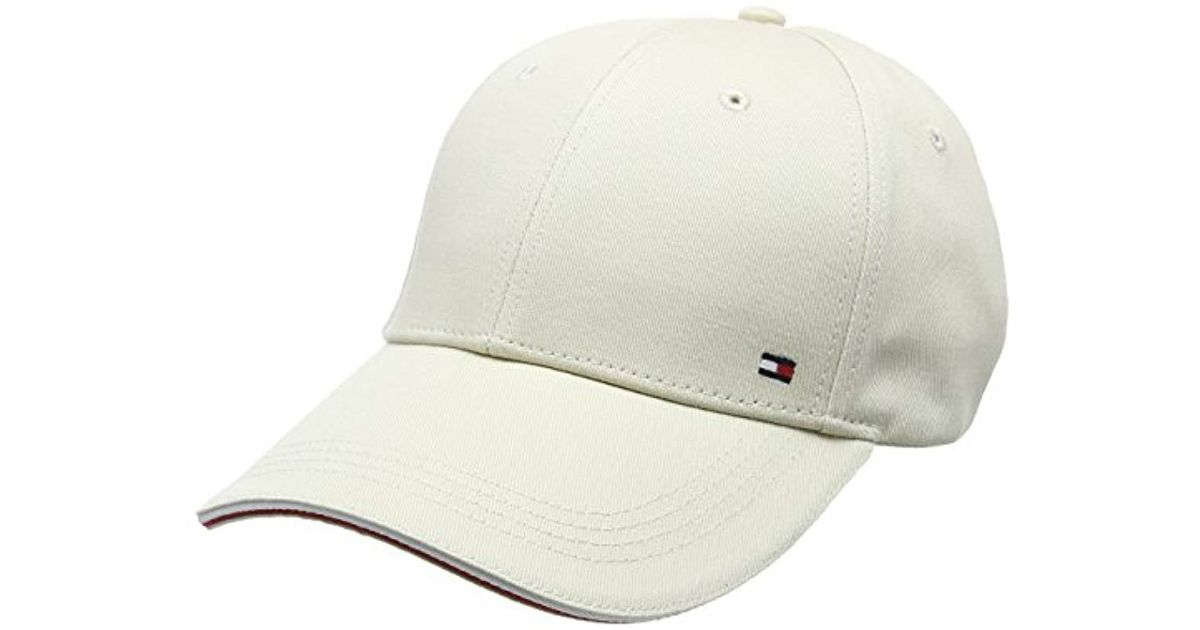 Tommy Hilfiger Corporate Cap Baseball in White for Men - Lyst 75732c61717