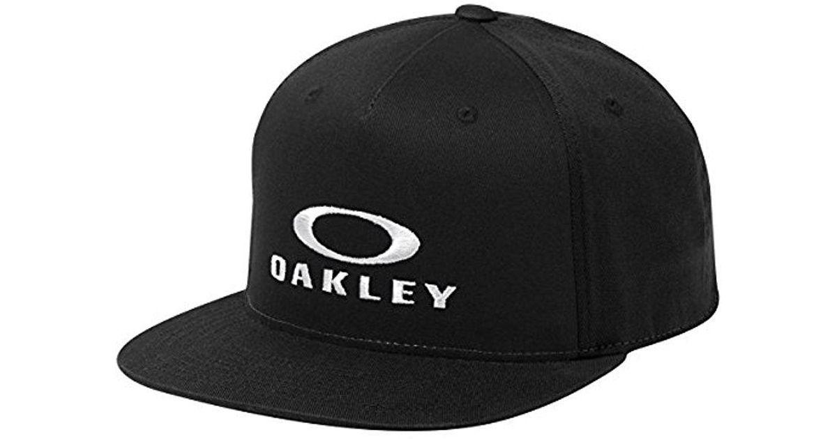 c6a794b2a6 coupon lyst oakley sliver 110 flexfit hat in black for men save  21.05263157894737 2c22c 73263