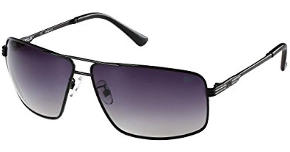 9dad68b477 Lyst - Caterpillar Shale Polarized Round Sunglasses in Black for Men