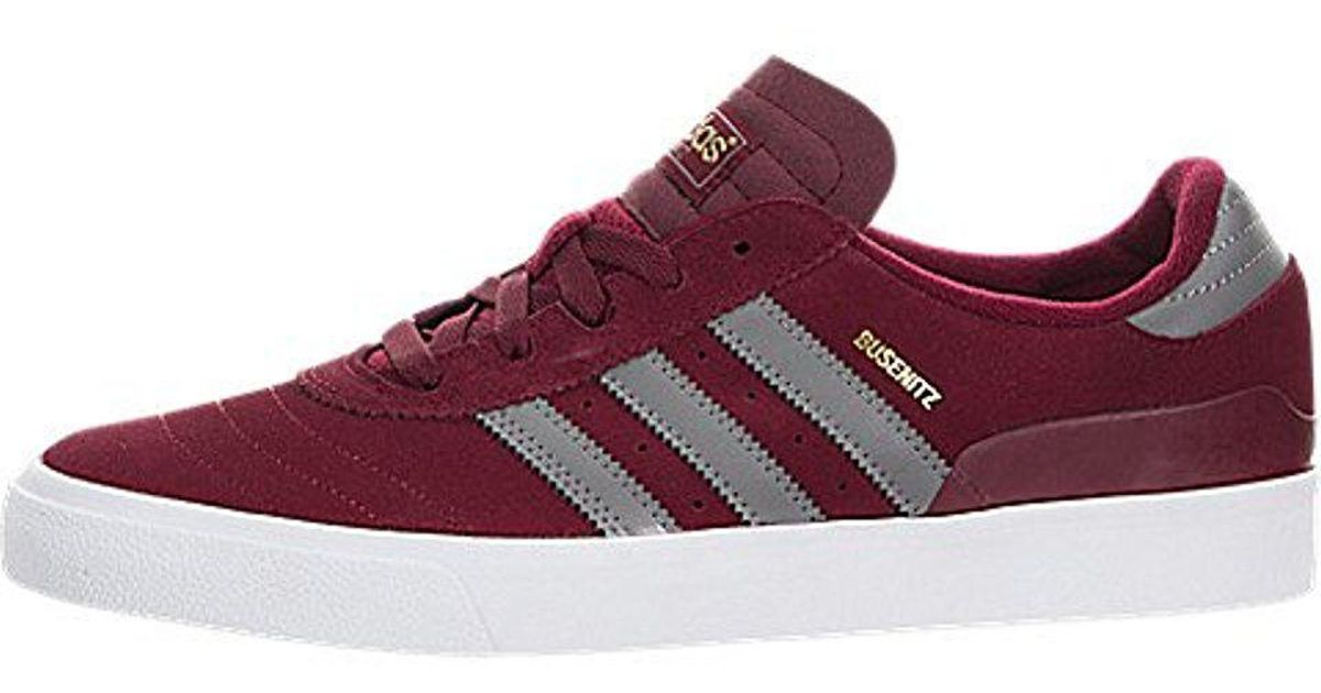 56dd9d0a585b10 Lyst - Adidas Originals Adidas Skateboarding The Busenitz Sneaker in Red  for Men