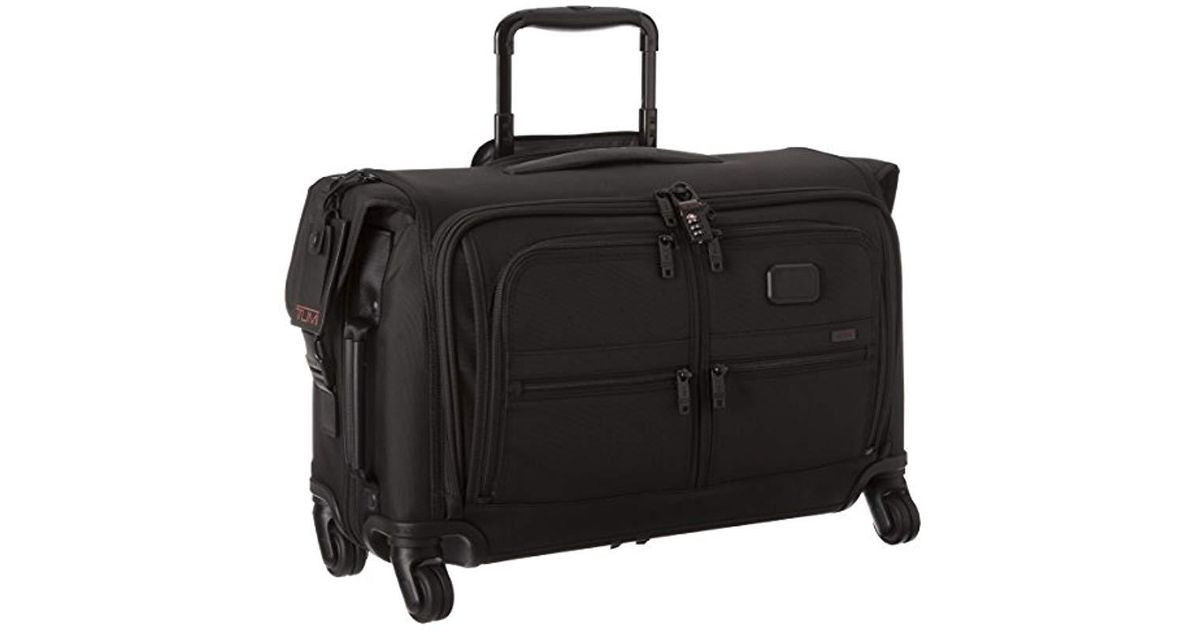 d97e70870f Lyst - Tumi Alpha 2 Carry-on 4 Wheel Garment Bag in Black for Men