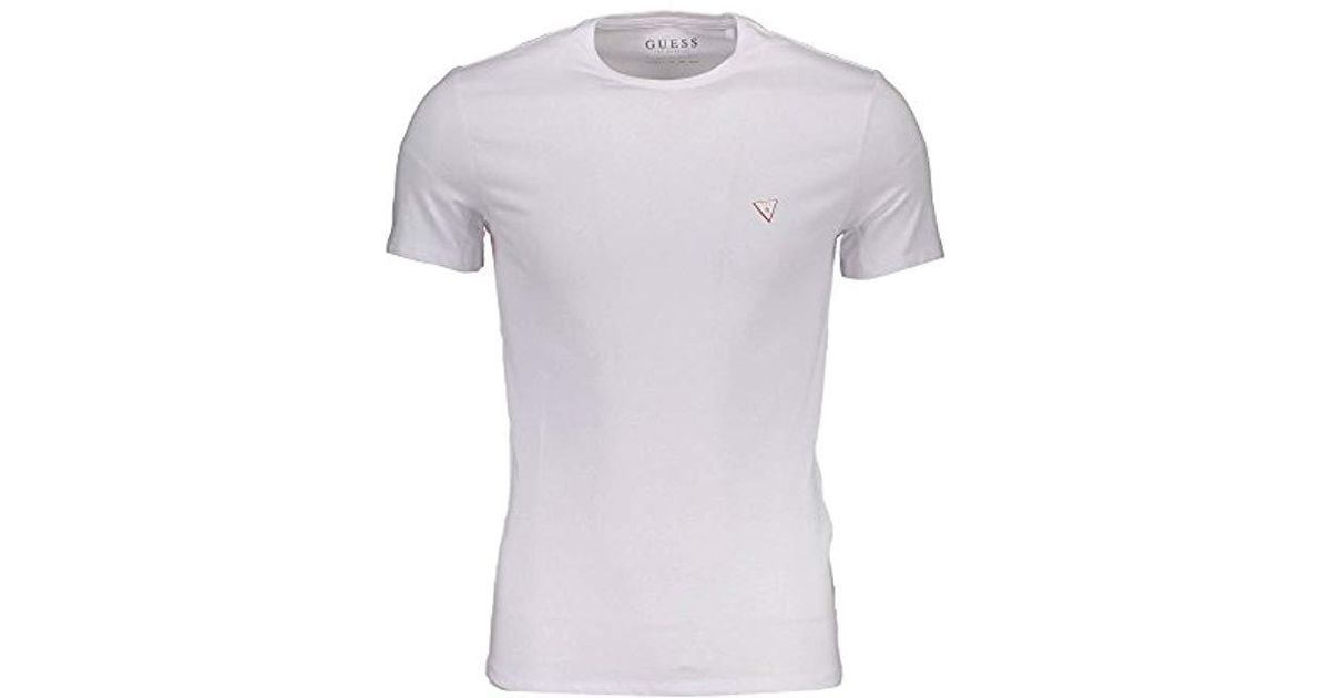 33804475e Guess Cn Ss Core Tee Kniited Tank Top in White for Men - Save 33% - Lyst