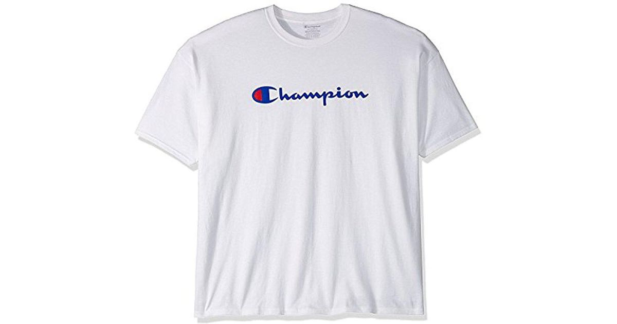 c175cf5b Lyst - Champion Classic Jersey Graphic T-shirt in White for Men