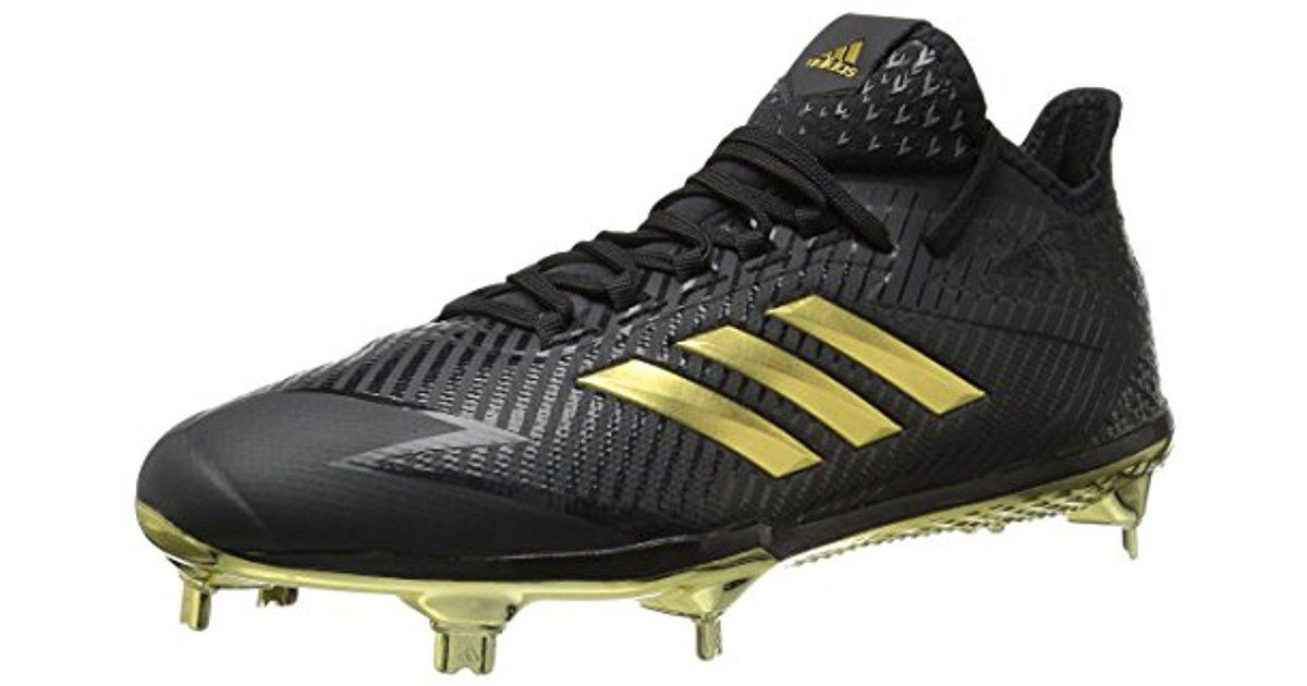 new concept 7e0d4 50a47 Lyst - adidas Adizero Afterburner 4 Cleat Baseball in Black
