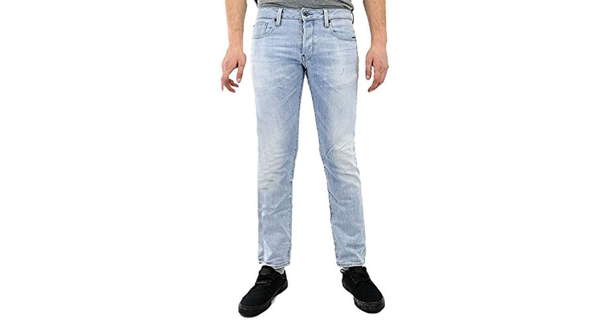 a38368ccd14 Lyst - G-Star Raw Attacc Straight-leg Jean In Nippon Stretch-denim Light  Aged in Blue for Men