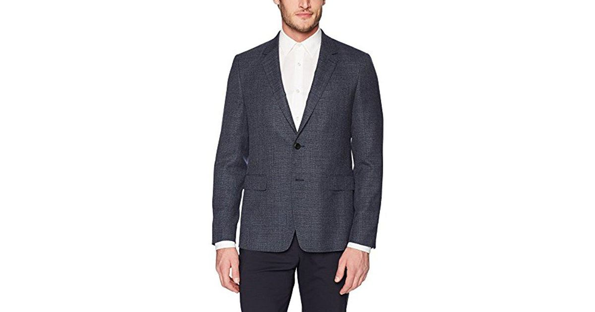 1407b1fbc91 Theory Gansevoort Sartorial Jacket in Blue for Men - Lyst