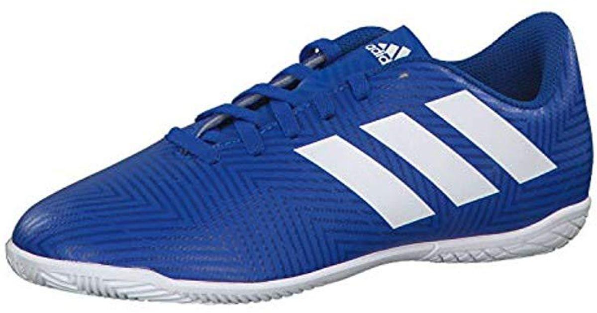 e6f12034c adidas Unisex Adults  Nemeziz Tango 18.4 In J Futsal Shoes in Blue for Men  - Lyst