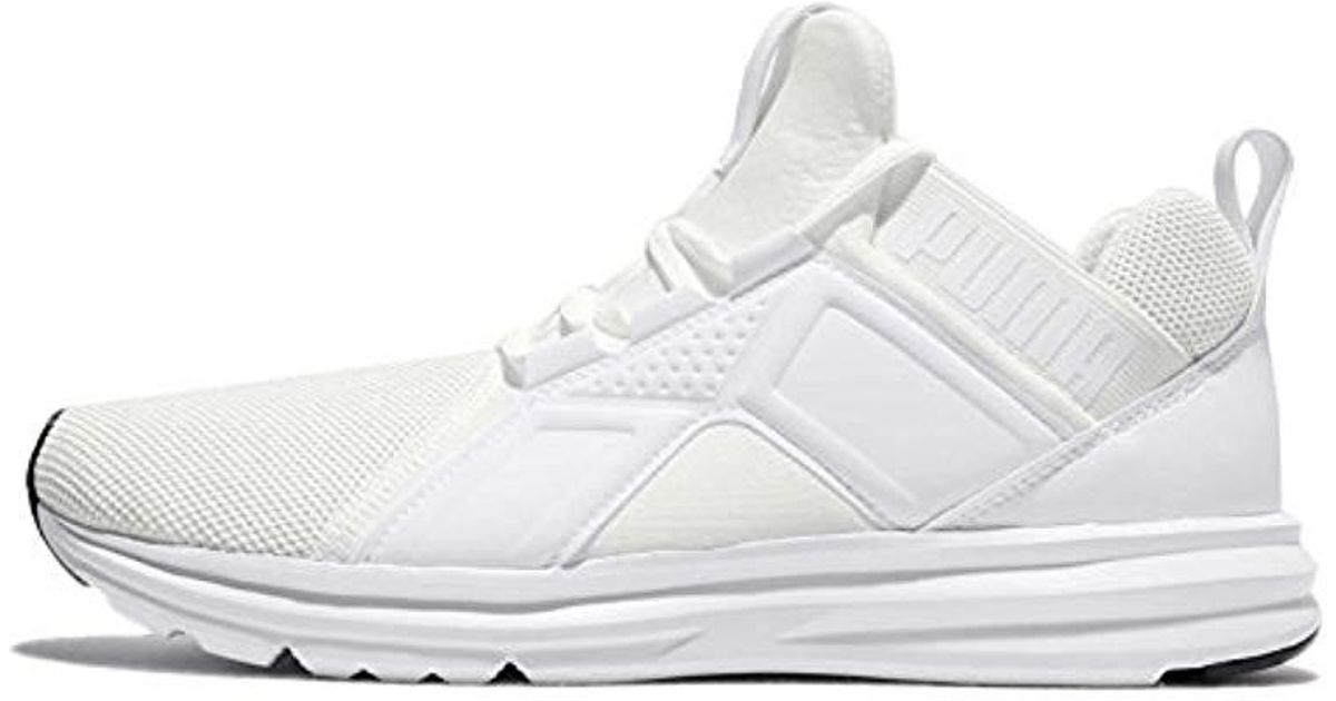 dfc02ebafce6 PUMA Enzo Mesh Running Shoes (190015) in White for Men - Lyst