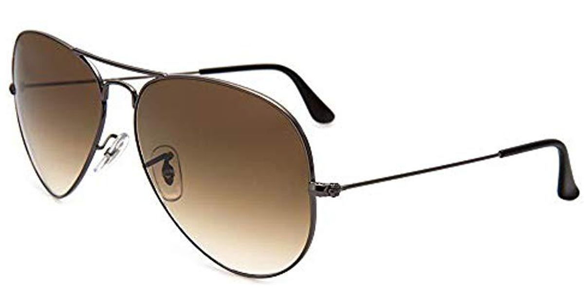 b20c04fc3c1 Lyst - Ray-Ban 3025 Aviator Large Metal Non-mirrored Non-polarized  Sunglasses for Men - Save 10%