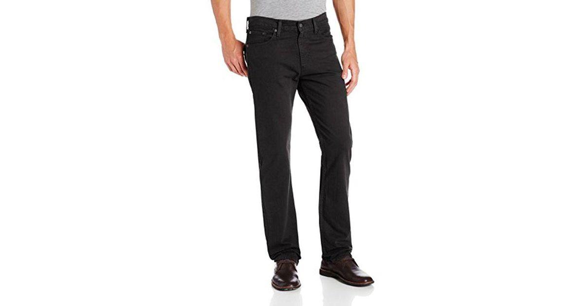 e717c74bee8 Lyst - Levi's 513 Slim Straight Jean in Black for Men