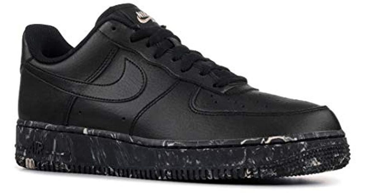 Nike Black Air Force 1 Low Print for Men Lyst