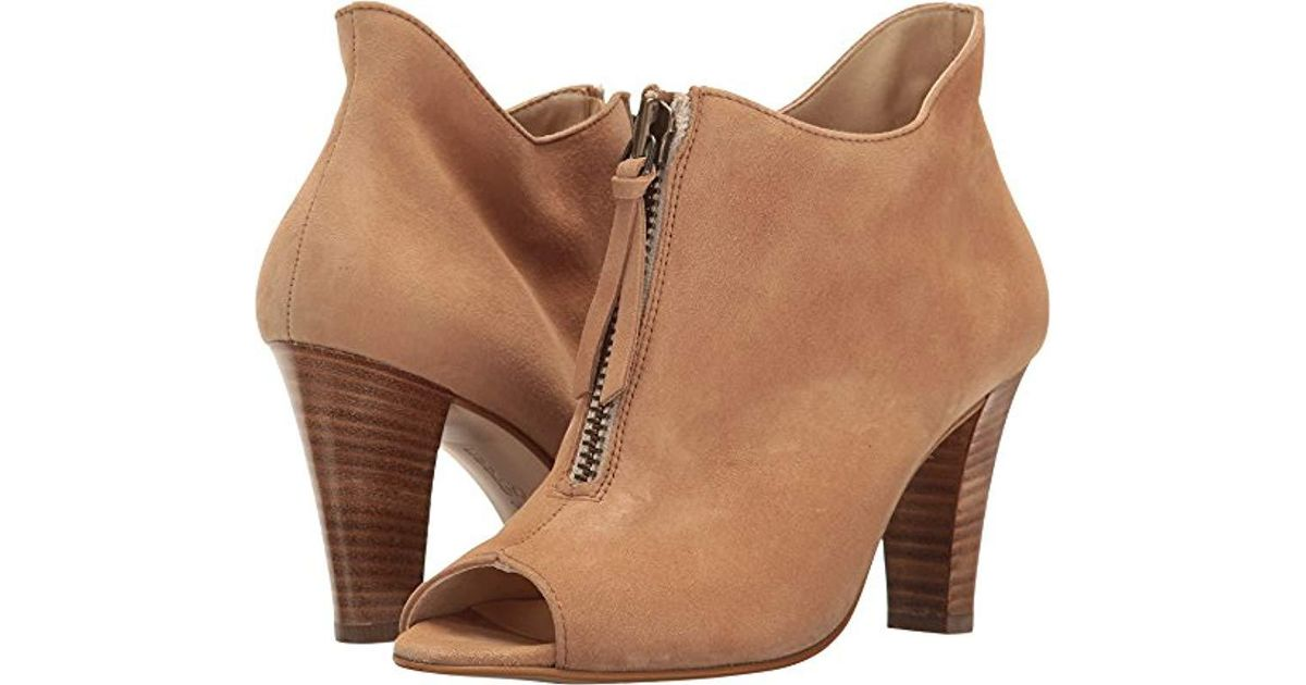 b8130297a0083 Paul Green Malory Heeled Sandal in Natural - Lyst