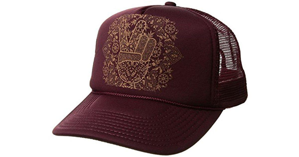 Lyst - O neill Sportswear Solstice Screen Print Foam Trucker Hat for Men 5fa6dbf78eee