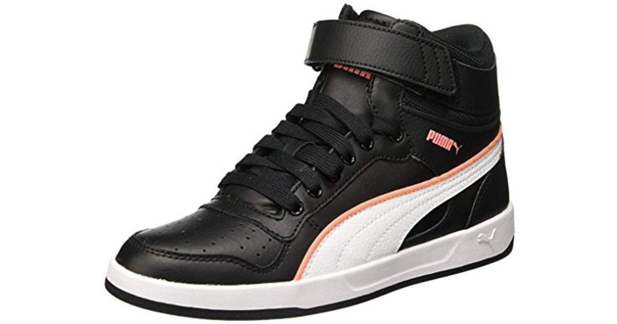 usine authentique 36854 bedc2 PUMA - Black Liza Mid, 's Hi-top Sneakers - Lyst