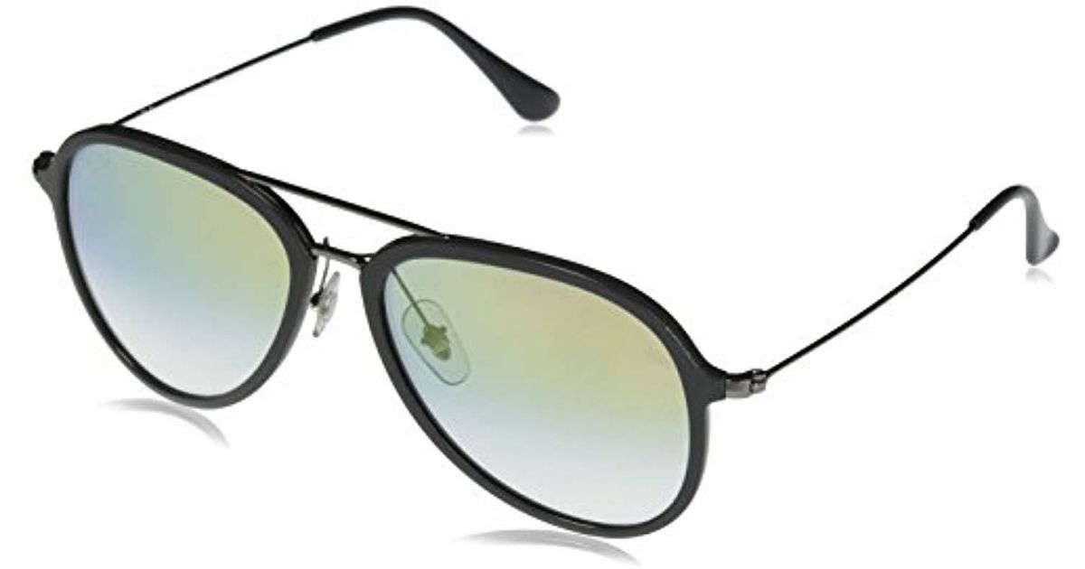 Ray-Ban Contemporary Pilot Sunglasses In Grey Clear Gold Gradient Rb4298  6333y0 57 in Gray for Men - Lyst 9a949c3341