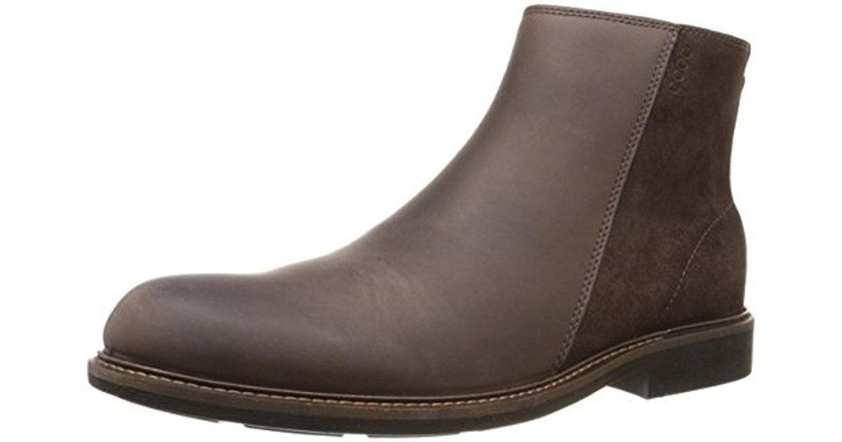 940bc05f05b Lyst - Ecco Findlay Mid Cut Chukka Boot in Brown for Men