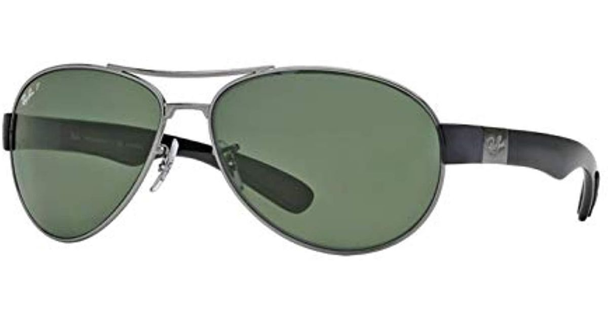 bb33b9a1bb Lyst - Ray-Ban 0rb3509 006 82 Polarized Active Lifestyle Pilot Sunglasses  for Men - Save 37%