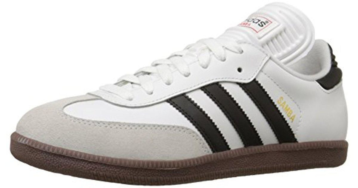 meet d753e e60d7 Lyst - adidas Samba(r) Classic (blackwhite) Mens Soccer Shoes in White  for Men - Save 36%
