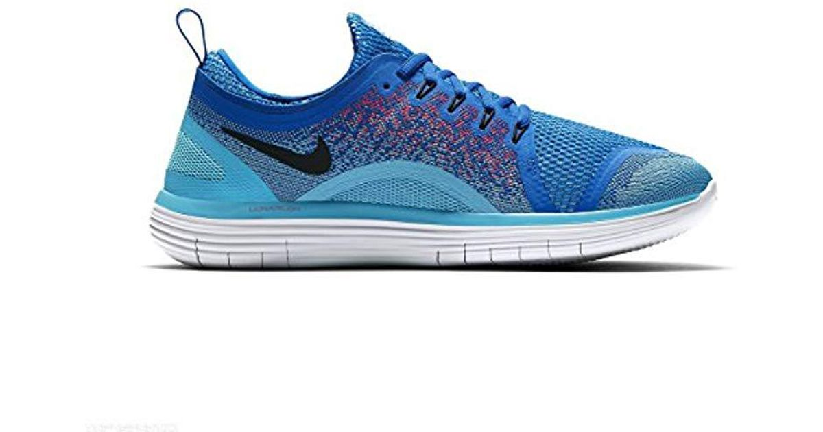 check out 83195 2ffdf Nike - Blue 's Free Rn Distance 2 Running Shoes for Men - Lyst