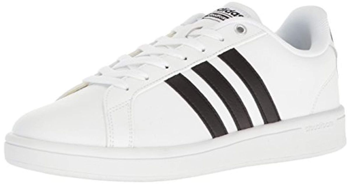lyst adidas cloudfoam vorteil sneaker mode für männer in weißen