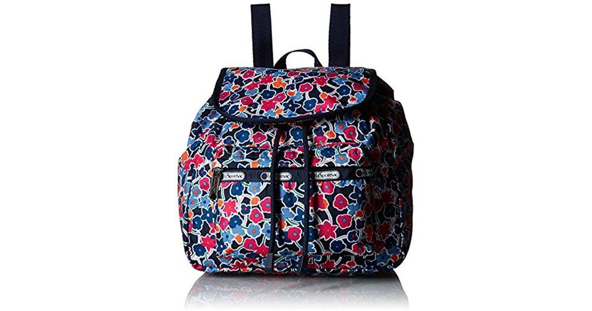 ff0e9b0ea59 Lyst - LeSportsac Classic Small Edie Backpack in Blue