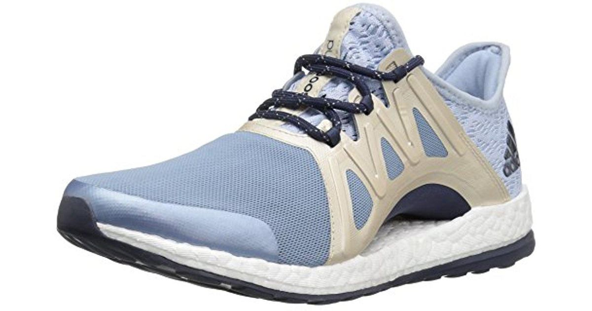 03f7e04734c Lyst - Adidas Performance Pureboost Xpose Clima Running Shoe in Blue