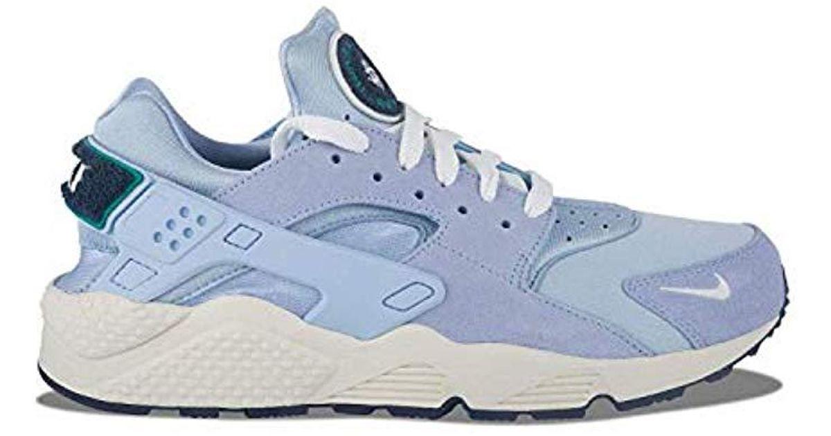 best shoes fantastic savings free delivery Nike Blue Air Huarache Run Prm Gymnastics Shoes for men