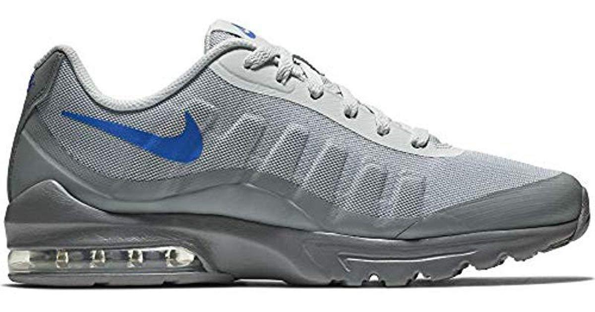 Nike Gray Air Max Invigor Print Running Shoes for Men Lyst
