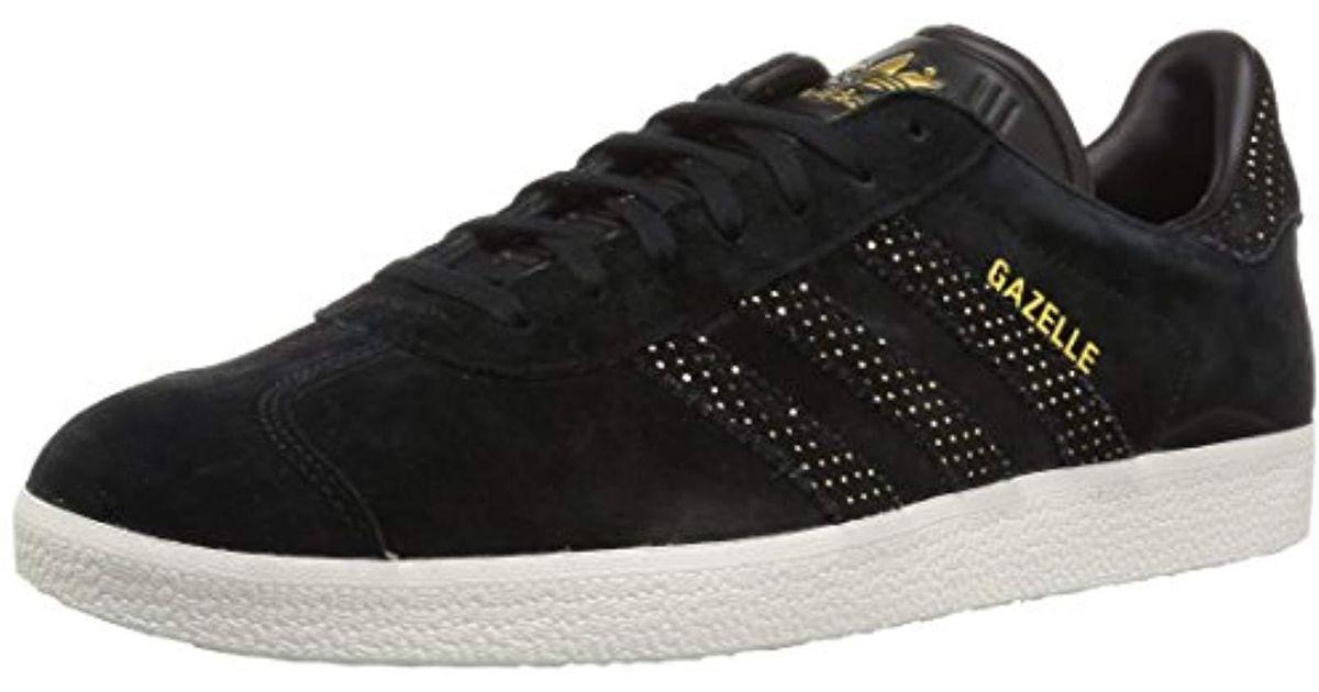 416ba4a721a4 Adidas Black Unisex Adults' Gazelle Low-top Sneakers