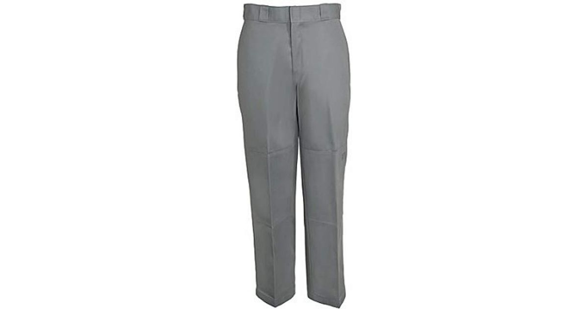 997afc1cd209c Lyst - Dickies 85-283 Loose Fit Double Knee Work Pant in Gray for Men