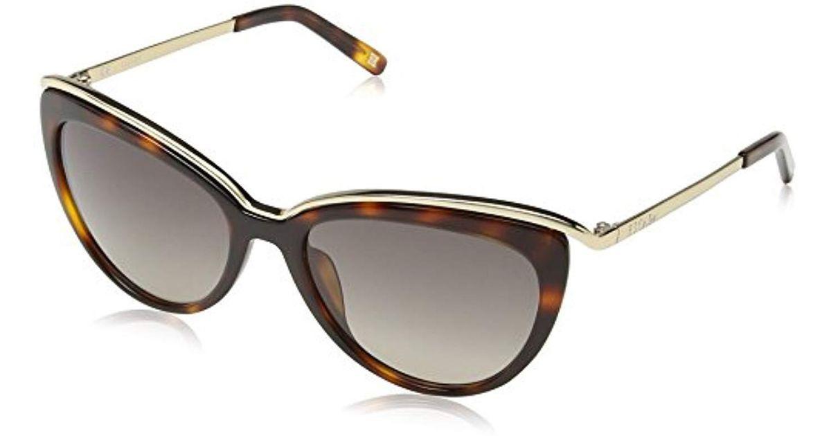 67ac9f6f2f Lyst - ESCADA Sunglasses Ses346m540748 Cateye Sunglasses in Metallic