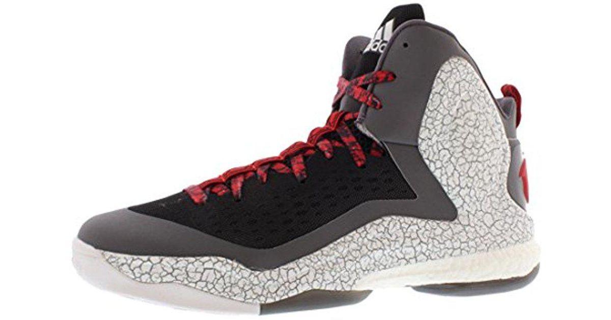 wholesale dealer 7ef6d 24d27 Lyst - adidas Performance D Rose 5 Boost Basketball Shoe in Black for Men