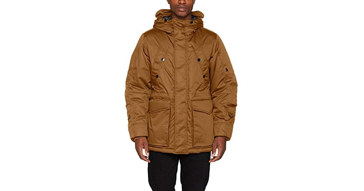 1e09e3c9ae64 G-Star Raw Whistler Twill Hdd Short Jacket in Brown for Men - Lyst