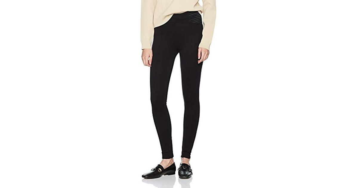 Dorothy Perkins Pull On Tregging Trousers in Black - Lyst 4a7df5f3015