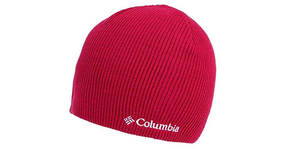 Lyst - Columbia Whirlibird Watch Cap Beanie in Red 70c49bb9d06