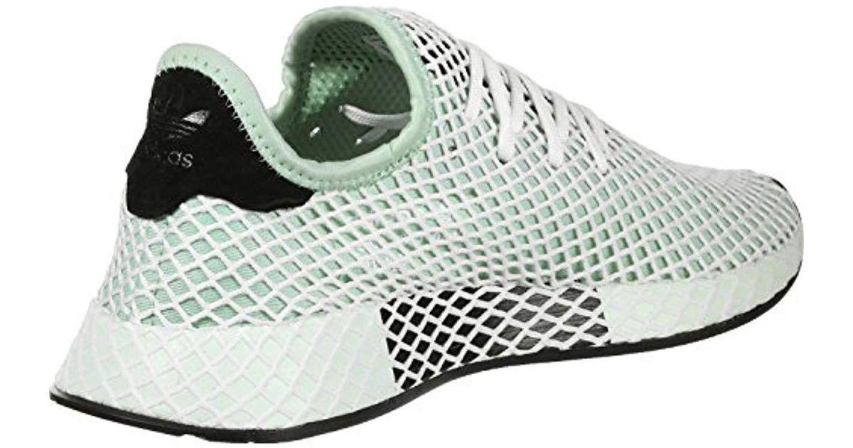 1cea6468d adidas Deerupt Runner W Gymnastics Shoes in Green - Lyst