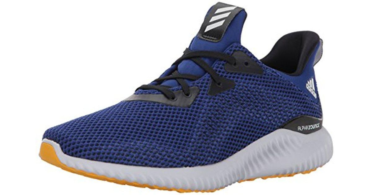 ce6904035a17b Lyst - adidas Performance Alphabounce M Running Shoe in Blue for Men - Save  31%