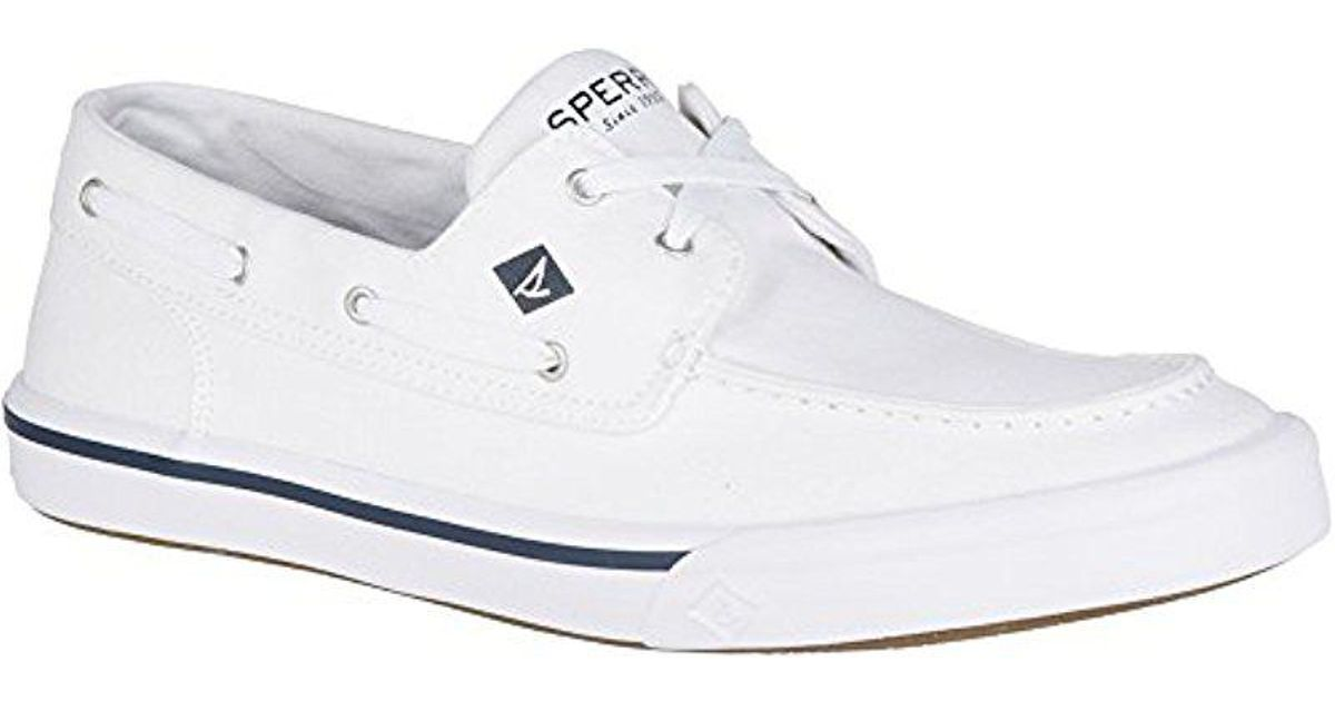 Bahama Ii Boat Washed White, Mens Boat Sperry Top-Sider
