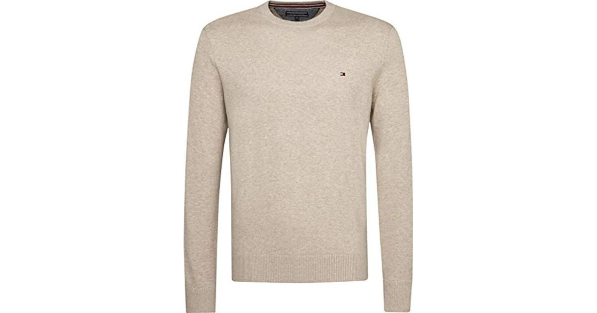 1241fbf4a30d6 Tommy Hilfiger Mw0mw03126 Jumper in Natural for Men - Lyst