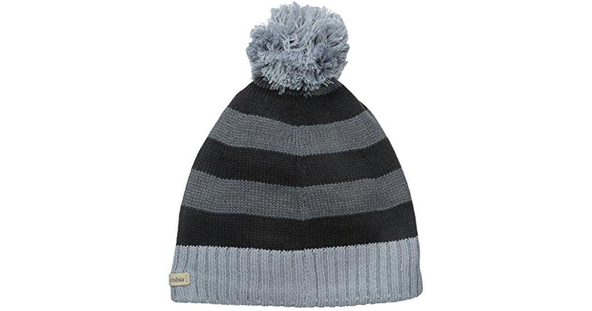 Lyst - Columbia Winter Blur Beanie in Black for Men 9cb3081c2092
