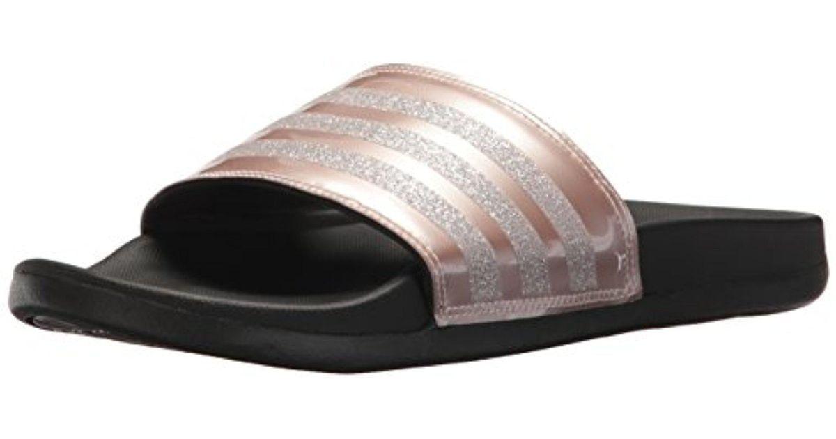 e400af277ce Lyst - adidas Adilette Cf+ Explorer W Sport Sandal in Gray