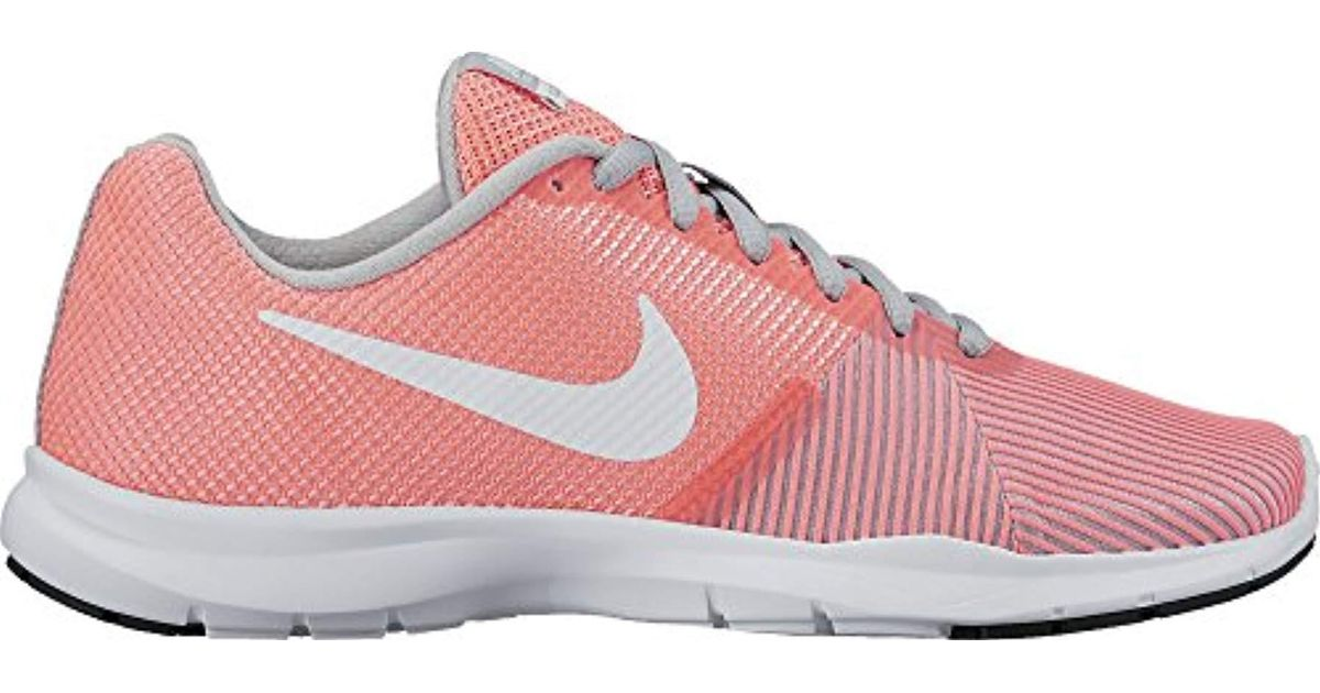 best service 13ef9 9c7fa Nike Flex Bijoux Fitness Shoes in White - Lyst