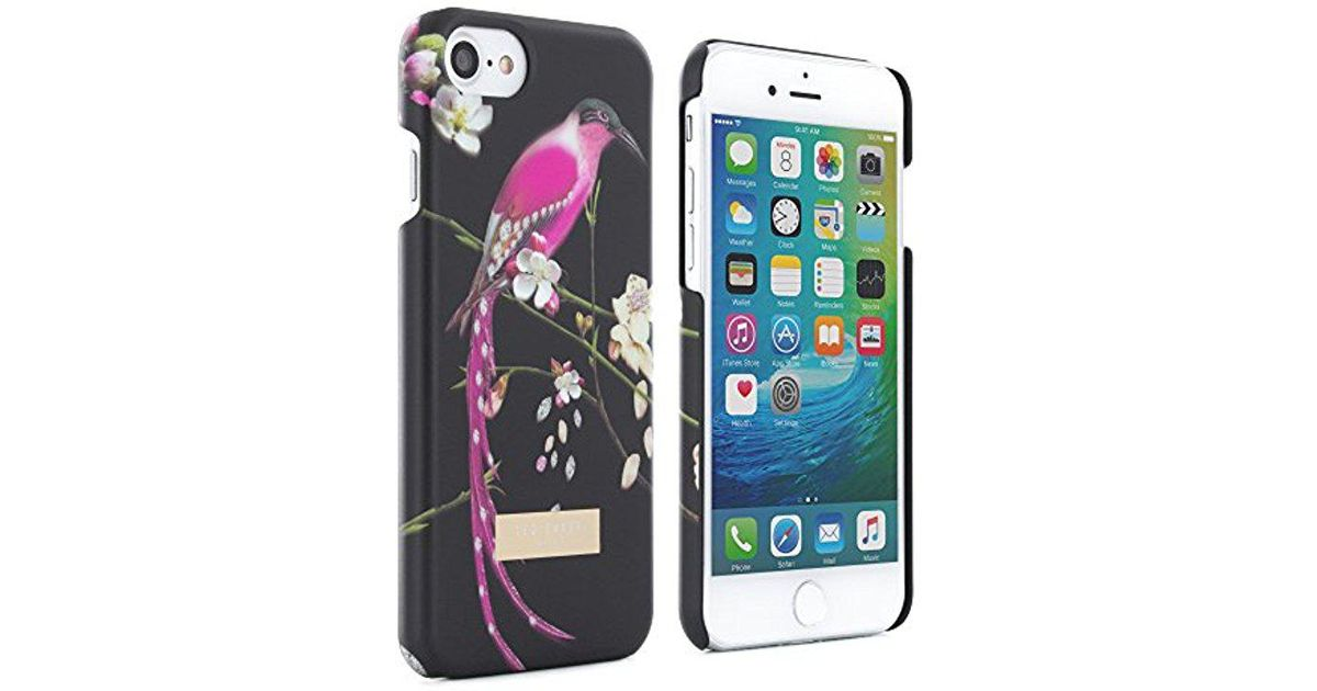 huge selection of e90ad a79b7 Ted Baker - Black Cell Phone Case For Apple Iphone 7 - Lyst