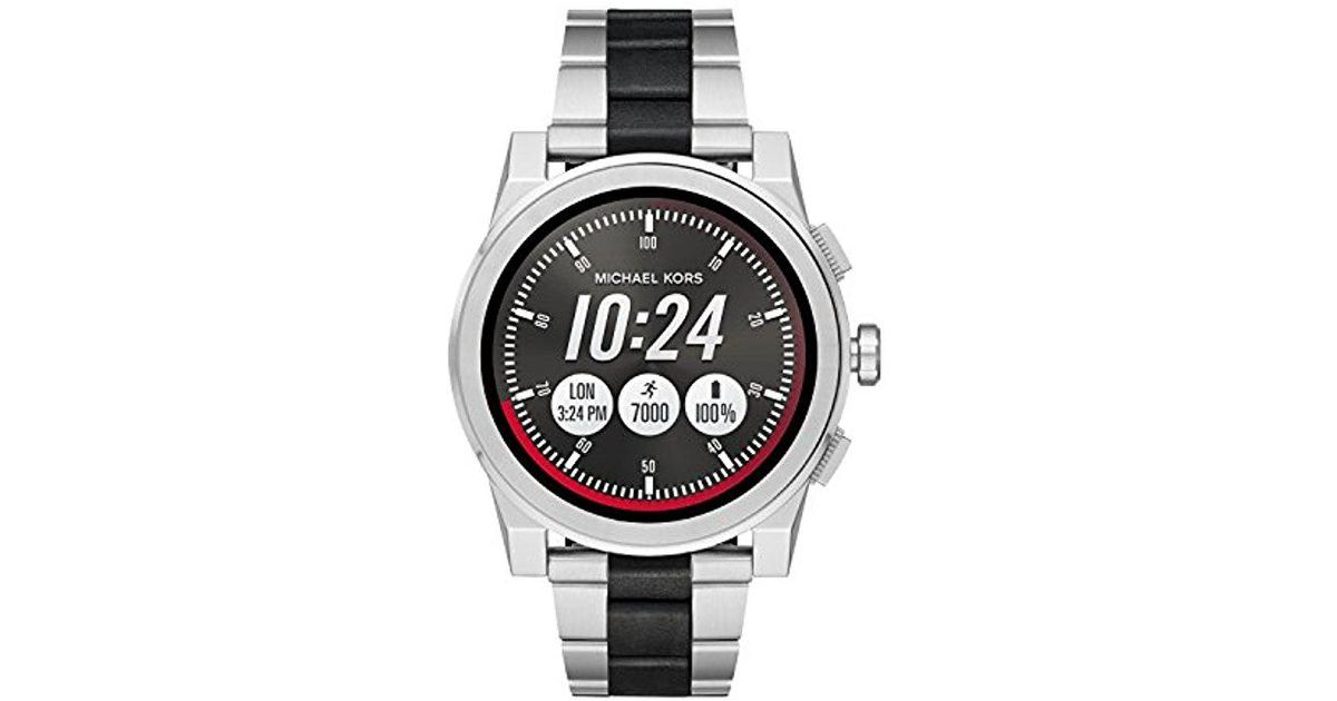 aa9be085b Michael Kors Access, 's Smartwatch, Grayson Two-tone Stainless Steel,  Mkt5037 in Metallic for Men - Lyst