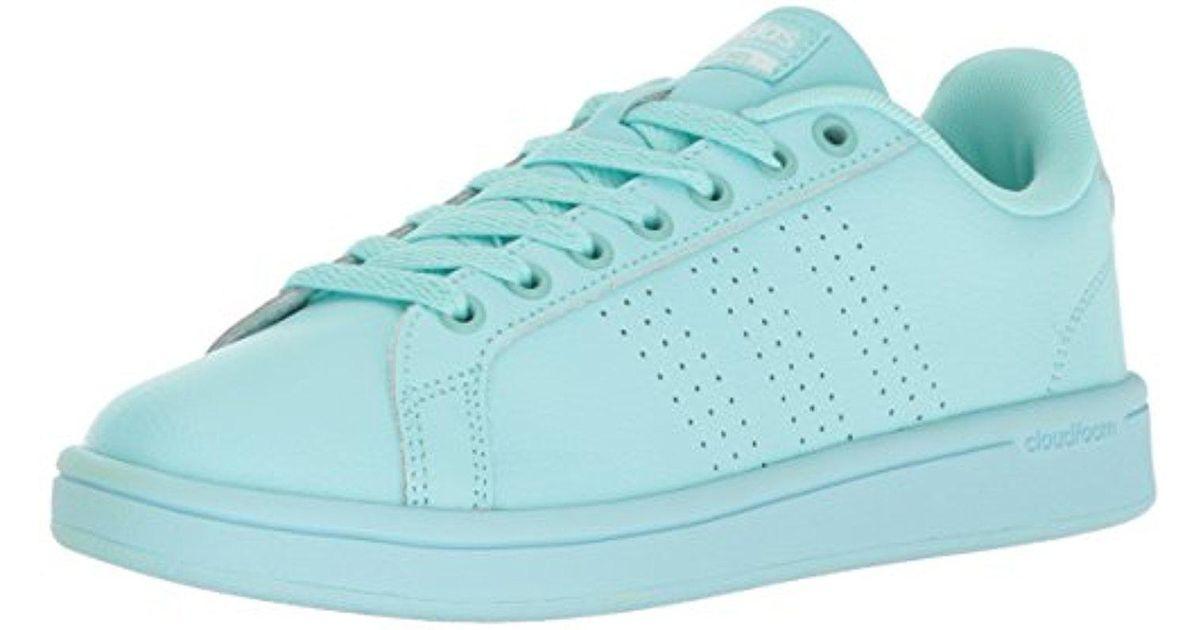27dcb54b713d55 Lyst - adidas Cloudfoam Advantage Clean Fashion Sneakers in Blue