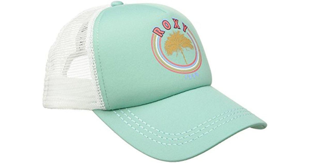 f13136b6847b8 Roxy Junior s Dig This Trucker Hat for Men - Lyst