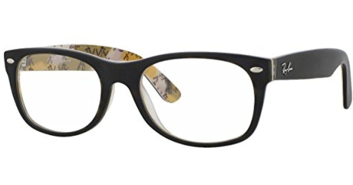 0753a020dca Lyst - Ray-Ban Ray Ban Rx5184 Wayfarer Eyeglasses