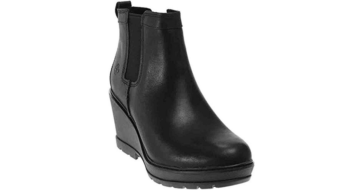 a1cc67cd0df Lyst - Timberland Kellis Double Gore Chelsea Boot in Black