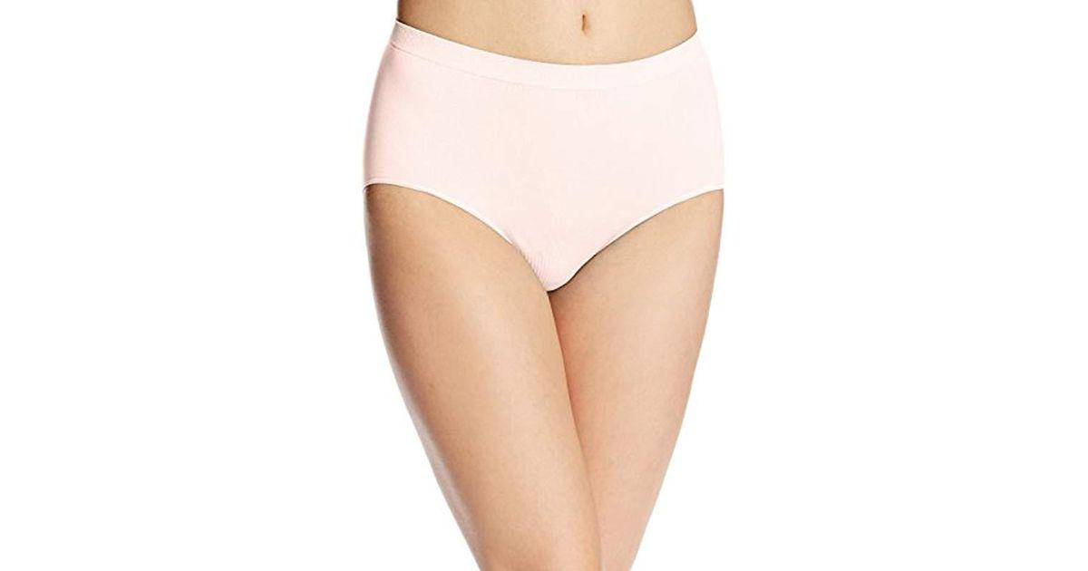 16b4e067a86 Lyst - Bali Comfort Revolution Seamless Brief Panty